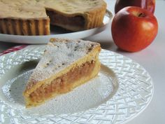 Almás pite 3. Hungarian Recipes, Apple Pie, Food And Drink, Bread, Cookies, Baking, Cake, Sweet Recipes, Crack Crackers
