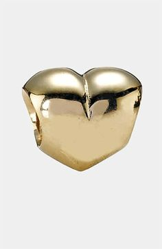 PANDORA Heart Gold Charm available at #Nordstrom