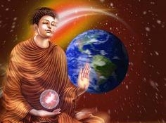 BUDDHA EARTH by VISHNU108