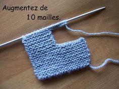 Les chaussons de Gaspard - Des Idées Par Milliers ! Newborn Crochet Patterns, Crochet Baby, Knitting Patterns, Knitted Booties, Baby Booties, Baby Converse, Baby Slippers, Baby Wearing, Diy And Crafts