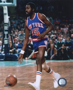 #15 Earl Monroe was a part of the 1973 Knicks NBA championship team and has his number retired!