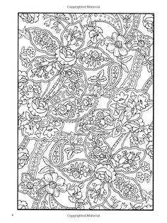 PAISLEY-COLORING PAGE...
