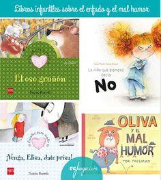 libros para niños sobre el enfado Reading Club, Elementary Spanish, 5th Grades, Kids Education, Montessori, Childrens Books, Preschool, Teacher, Feelings