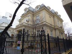 Casa mareşalului Averescu // Alexandru Averescu Bucuresti str. Dionisie Lupu