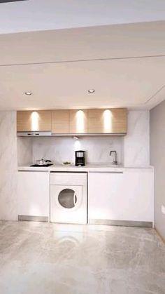 Small House Interior Design, Small Room Design, Tiny House Design, Cool House Designs, Modern House Design, Loft Design, Room Design Bedroom, Home Room Design, Studio Apartment Design