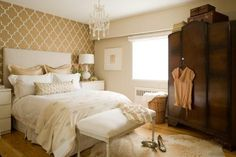 pretty - I covet this room as one of my favs - love the wardrobe
