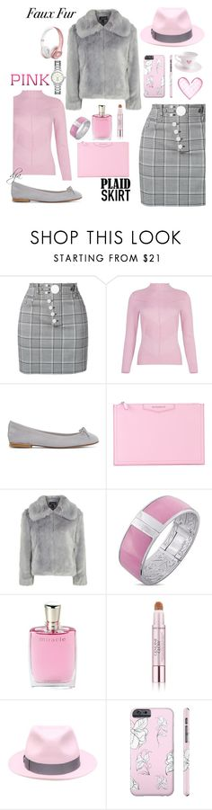 """Pink and Grey"" by dgia ❤ liked on Polyvore featuring Alexander Wang, Repetto, Givenchy, Topshop, Laura Ashley, Lancôme, Estée Lauder, Borsalino, Tory Burch and Beats by Dr. Dre"