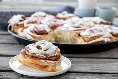 KANELBOLLER MED OSTEKREM | TRINES MATBLOGG French Toast, Deserts, Cookies, Baking, Breakfast, Cake, Sweet, Recipes, Food
