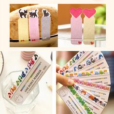 1PCS Free Shipping New Korea Stationery Home Pretty Kawaii Cartoon Animal Sticker Post It Bookmarker Memo Pad Flags Sticky Notes