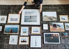 Whether you're in the market for large scale prints, flea market finds, or antique oil paintings, these online shops have it ALL. #gallerywall