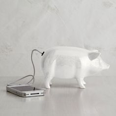 ceramic pig speaker. too cute