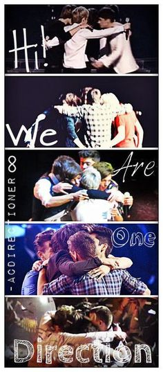Repin if you read this in their voices.. <3 and then sobbed because of how far they've come. yeah.