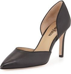 bbb28faf26e9 found this for you -- Neiman Marcus Nina Leather d Orsay Pump
