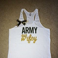 Army Wifey Tank – Ruffles with Love