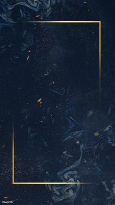Golden rectangular frame on an abstract background Framed Wallpaper, Flower Background Wallpaper, Free Phone Wallpaper, Frame Background, Screen Wallpaper, Background Patterns, Free Background Photos, Tropical Background, Black Wallpaper