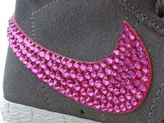 How to bling your Nike shoes. So doing this!