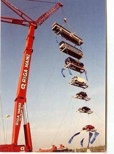 Crane Construction, Heavy Construction Equipment, Construction Machines, Heavy Equipment, Industrial Photographs, Lego Crane, Giant Truck, Crawler Crane, Us Military Aircraft