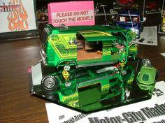Custom Chevy Van Model. Lowrider Model Cars, Hobby Cars, Chevy Van, Plastic Model Cars, Model Cars Kits, Custom Vans, Old Models, Model Building, Rc Cars
