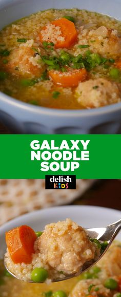 Galaxy Noodle Soup is out of this world amazing. Get the recipe at Delish.com.