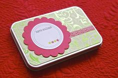 little gift tins. decorate, fill, wrap