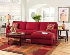 RED SOFA | Red | Pinterest | Red couch living room, Living rooms and ...