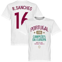 Portugal EURO 2016 Sanches Winners T-Shirt - L