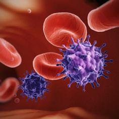 HI-Virus in der Blutbahn (Zeichnung)
