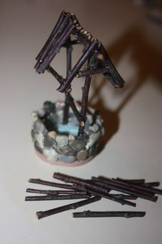 Juise: DIY to Make a Faerie Well so doing this for the fairy house I'm working on!!