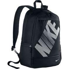 Nike Classic Line Backpack ($45) ❤ liked on Polyvore featuring bags, backpacks, black, school & day hiking backpacks, rucksack bag, nike bag, padded backpack, knapsack bags and nike