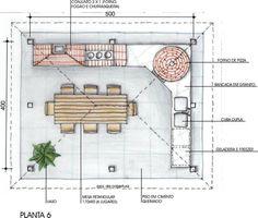 quintal churrasqueira area de serviço juntas - Pesquisa Google Barbecue Four A Pizza, Italy Restaurant, Barbecue Design, Pizza Oven Outdoor, Rustic Chic, Future House, House Plans, Floor Plans, Backyard