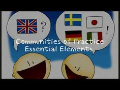 In this video I explore the concept of Communities of Practice according to social learning theorist Etienne Wenger. My practical example of Communities of P. Essential Elements, Community, Concept, Teaching, Enabling, Youtube, Model, Education