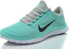 Nike Free Pour Femme En Bleu Tiffany (Vert Menthe)/Gris Frais/Noir/Blanc,Latest trainers arrive - order from us with good price. Nike Free Runs For Women, Nike Free 3, Nike Women, Bleu Tiffany, Tiffany Blue Nikes, Discount Running Shoes, Running Shoes Nike, Nike Shoes Cheap, Nike Free Shoes
