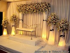 Low Cost Simple Stage Decoration For Wedding