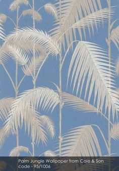 Palm Jungle wallpaper from Cole & Son