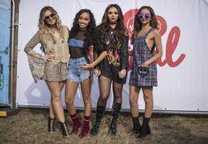 Little Mix Backstage at the V Festival, Aug 21, 2016