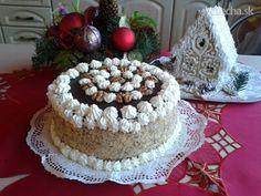 Moja prvá vianočná orechová torta (fotorecept) - Recept