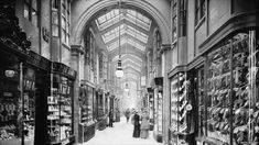 Britain's first shopping arcade was in Mayfair when the Burlington Arcade opened in 1819.