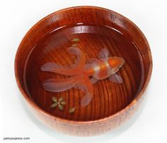 3D Goldfish Painting In Resin Water inspired by Riusuke Fukahori