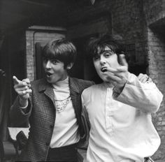 Davy Jones and Donovan, June 1968.