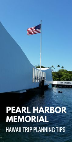Pearl Harbor memorial in Hawaii is a top travel bucket list of cheap things to do on Oahu, near Waikiki, Honolulu, on days you don\'t go hiking, snorkeling, or to beaches. Better understand facts of what propelled the US into World War II. As a national monument, it's a sort of national park in Hawaii! For culture and history activities, make a remembrance of the Pearl Harbor attack at this beautiful outdoor museum a part of your Hawaii vacation on a budget. Free admissions... #hawaii #oahu