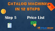 Product Catalog, Price List, Create Yourself, The Creator, Waiting, Pdf, Platform, Marketing, Button