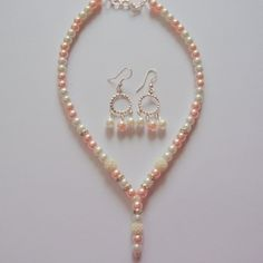 Pearl Necklace #jewellery Set online with #craftshopsindia