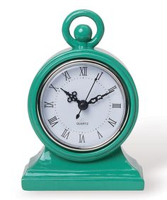 Look at this Green Mod Clock on #zulily today!