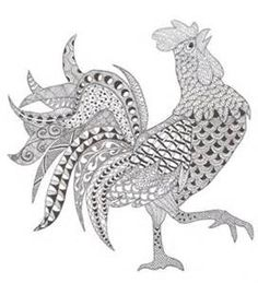 Zentangle Patterns for Beginners Animals - Bing images