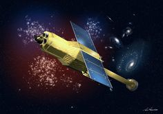 Hitomi, Japan's newest space telescope, was meant to study the high-energy universe -- but it may be in deep trouble. (JAXA)