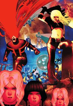 Uncanny X-Men by Frazer Irving