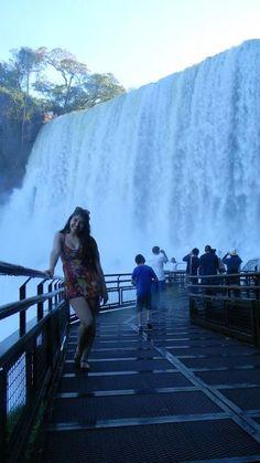 Amazing and beautiful iguazú falls