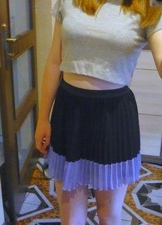 Kup mój przedmiot na #vintedpl http://www.vinted.pl/damska-odziez/spodnice/14007485-czarna-krotka-spodniczka-z-hm