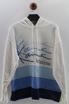 95cea0c14447 KARL KANI Embroidery Logo Pullover Hoodie Unisex XLarge Karl Kani Hip Hop  BigLogo Kani Fubu Activewear Wu Clan Jeans Jumper Size XL