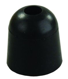 JR Products 11745 Black 1inch Rubber Bumper JR Products #JRProducts